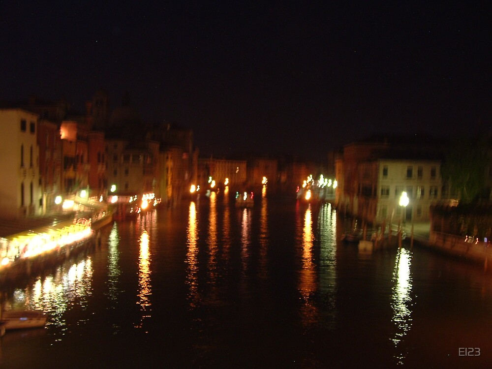 venice by night by El23