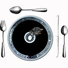 PLACE SETTINGS DINNER FOR EIGHT by Thomas Barker-Detwiler