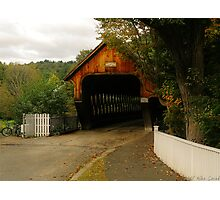 The bridge to Woodstock Photographic Print