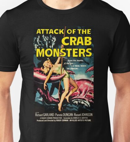 Attack of the Crab Monsters - vintage movie poster Unisex T-Shirt
