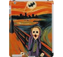 scream joker iPad Case/Skin