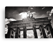 Brandenburg Gate (Brandenburger Tor) - Berlin Germany Canvas Print