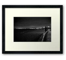 the walker Framed Print