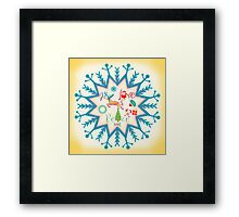 Love Joy Peace Framed Print