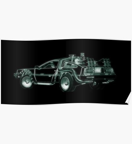 light delorean Poster