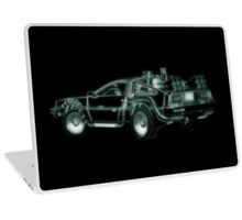 light delorean Laptop Skin