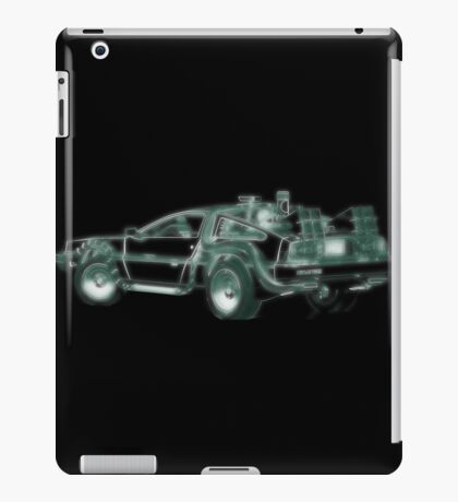 light delorean iPad Case/Skin
