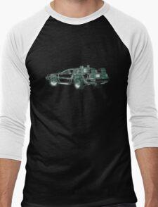 light delorean Men's Baseball ¾ T-Shirt