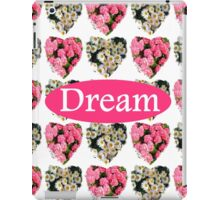 DREAM OF WHITE DAISIES AND PINK FLOWERS iPad Case/Skin