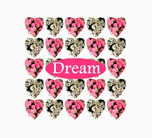 DREAM OF WHITE DAISIES AND PINK FLOWERS Unisex T-Shirt