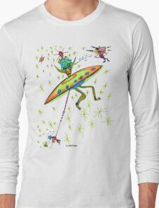 Alien Landing Long Sleeve T-Shirt