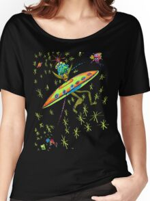 Alien Landing Women's Relaxed Fit T-Shirt
