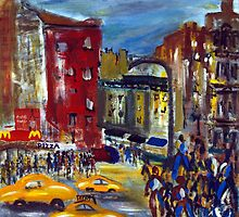 St Marks, New York City by Enrico Thomas