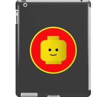 MINIFIG HAPPY FACE iPad Case/Skin