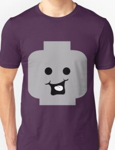 Cheeky Minifig Head Unisex T-Shirt
