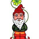 St patrick's Gnome by Octavio Velazquez