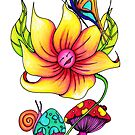 Flower by Octavio Velazquez
