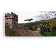 Lancaster VR-A at the Derwent Dam Canvas Print