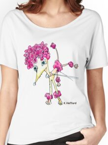 Pink Poodle Women's Relaxed Fit T-Shirt