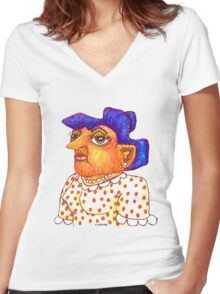Mom - Betty Women's Fitted V-Neck T-Shirt