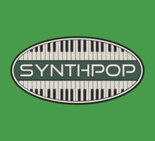 Synthpop VGL Oval Baby Tee