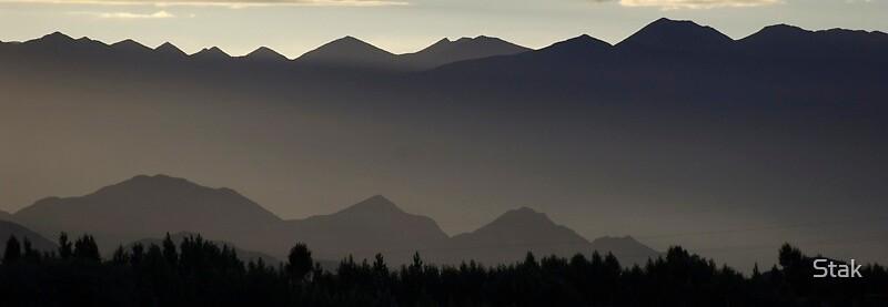 Bhutan landscape by Stak