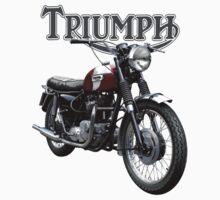 Triumph Bonneville by tonynewland