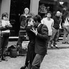 Tango en San Telmo, Buenos Aires by Manuel GOURSOLLE