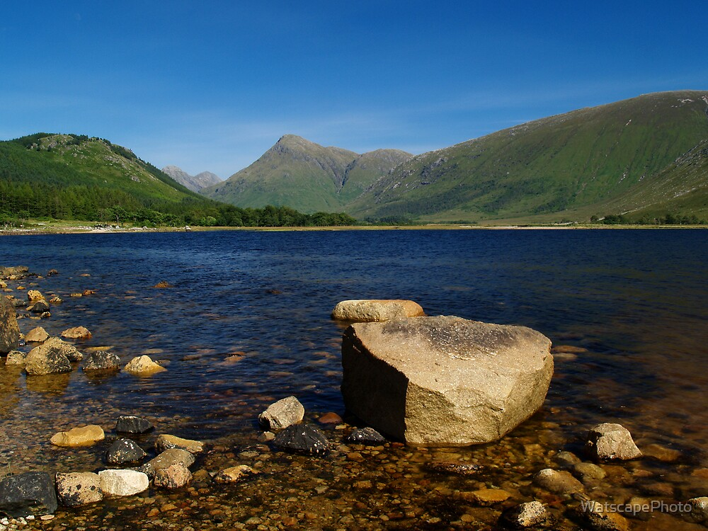 Loch Etive at Gualachulain 2 by WatscapePhoto