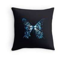 Fringe Butterfly Throw Pillow