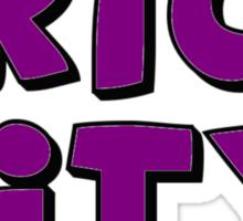Brick City Sticker