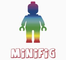Minifig Rainbow  Kids Clothes