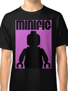 Retro Large Black Minifig Classic T-Shirt