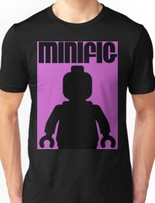 Retro Large Black Minifig Unisex T-Shirt