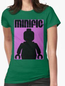 Retro Large Black Minifig Womens T-Shirt