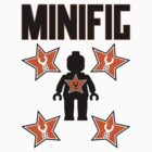Minifig with Customize My Minifig Star Logos by ChilleeW