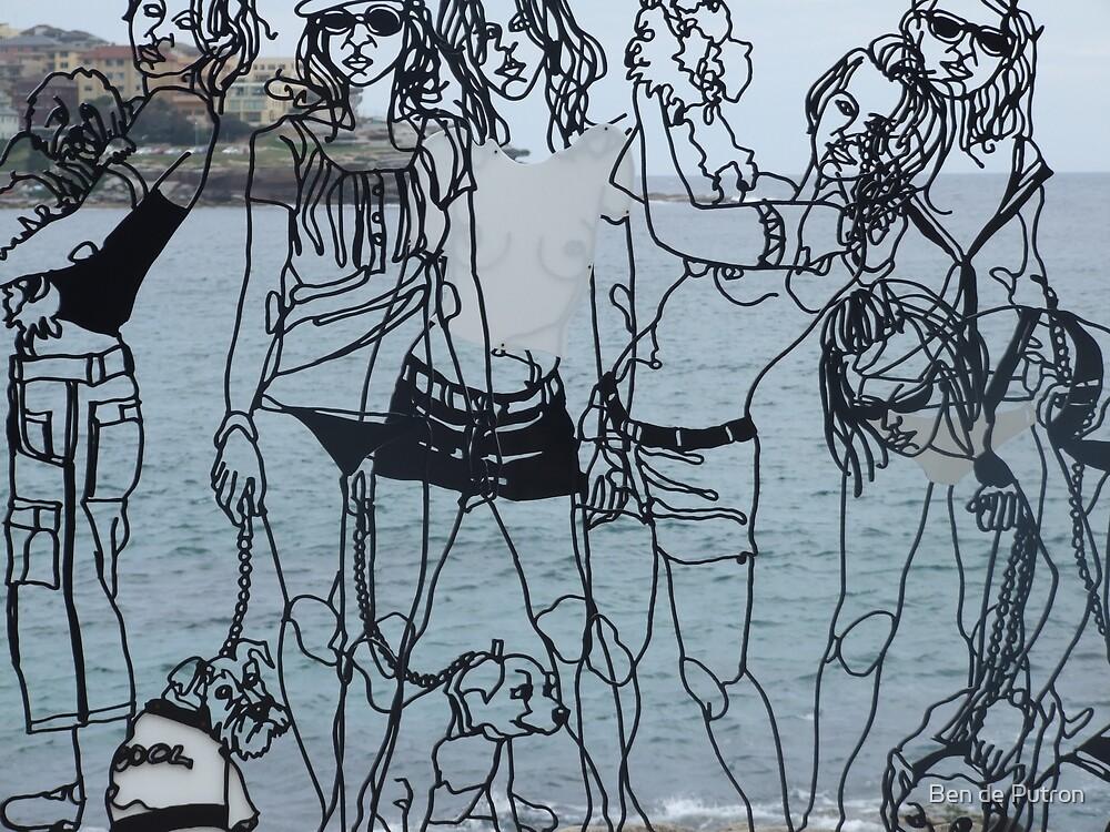 6 Ladies and the Sea by Ben de Putron