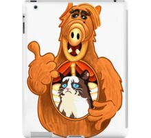 ALF Grumpy Cat  iPad Case/Skin