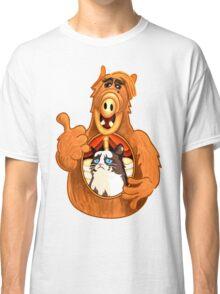 ALF Grumpy Cat  Classic T-Shirt