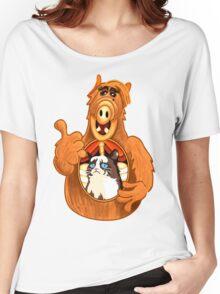 ALF Grumpy Cat  Women's Relaxed Fit T-Shirt