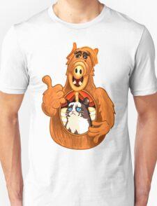 ALF Grumpy Cat  Unisex T-Shirt