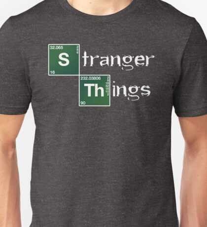Stranger Things Breaking Bad Logo Unisex T-Shirt