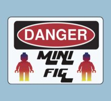 Danger Minifig Sign Baby Tee