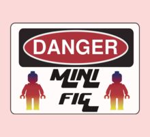 Danger Minifig Sign One Piece - Long Sleeve