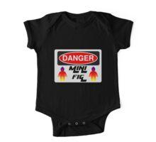 Danger Minifig Sign One Piece - Short Sleeve