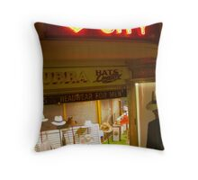 Headwear for men Throw Pillow