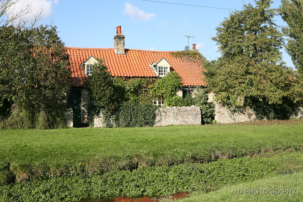 The old cottage dunston, Lincolnshire by NJAPHOTOGRAPHY