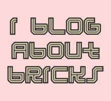 I BLOG ABOUT BRICKS One Piece - Short Sleeve