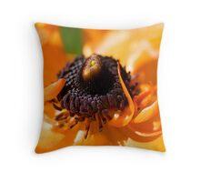 Flower Closeup Throw Pillow