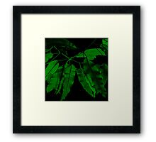 7DAY's Of SUMMER- NATURE COLLECTION-Eco green Framed Print